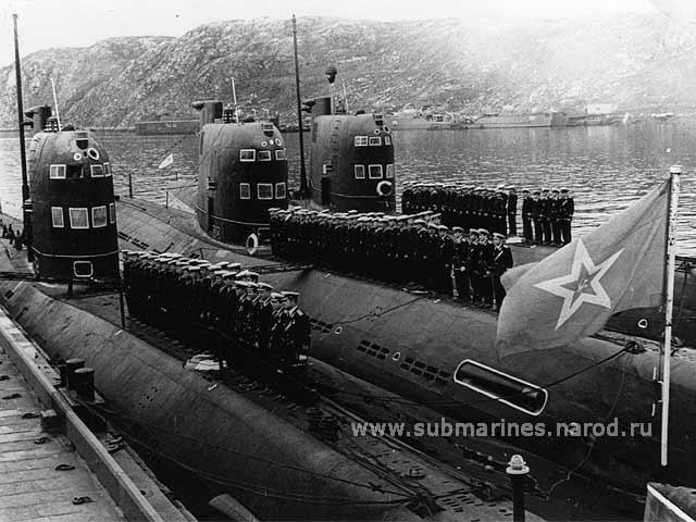 подводные лодки россии проекта 641