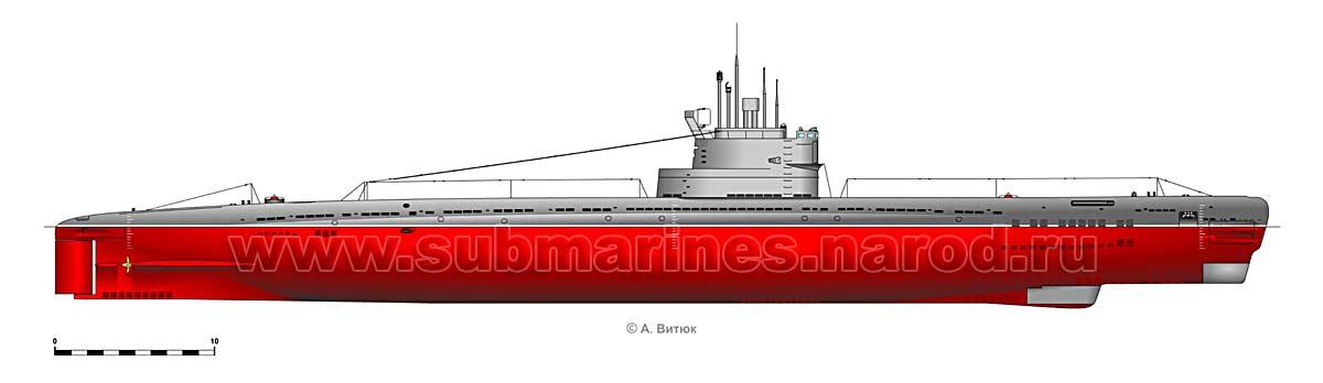 подводная швербот пр. 644
