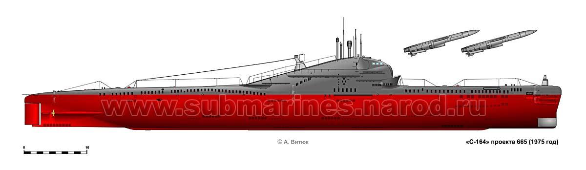 дизельные ракетные подводные лодки ссср