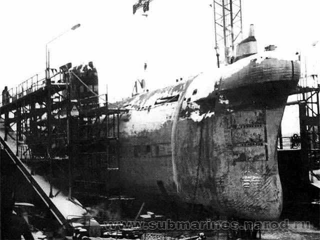 подводная лодка комсомолец история фото
