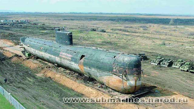 подводная лодка в тольятти история