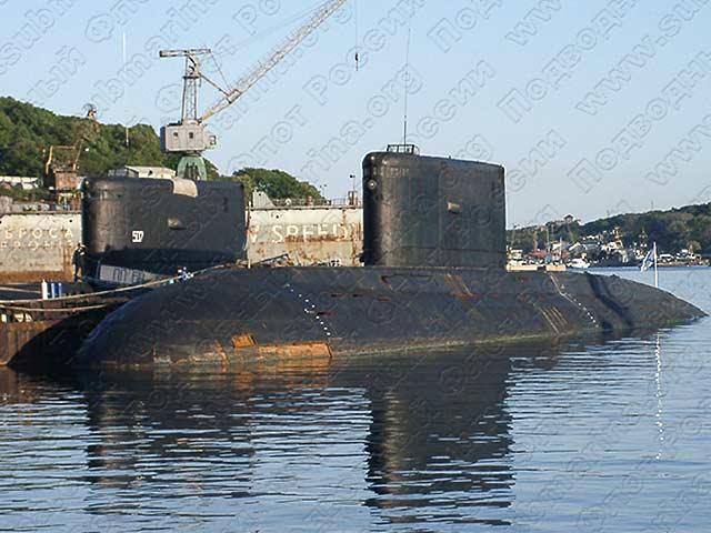 видео о подводная лодка во владивостоке
