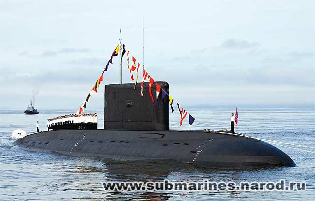 подводных лодок проекта 877