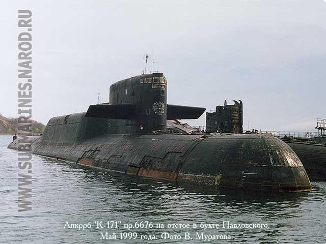к-477 подводная лодка