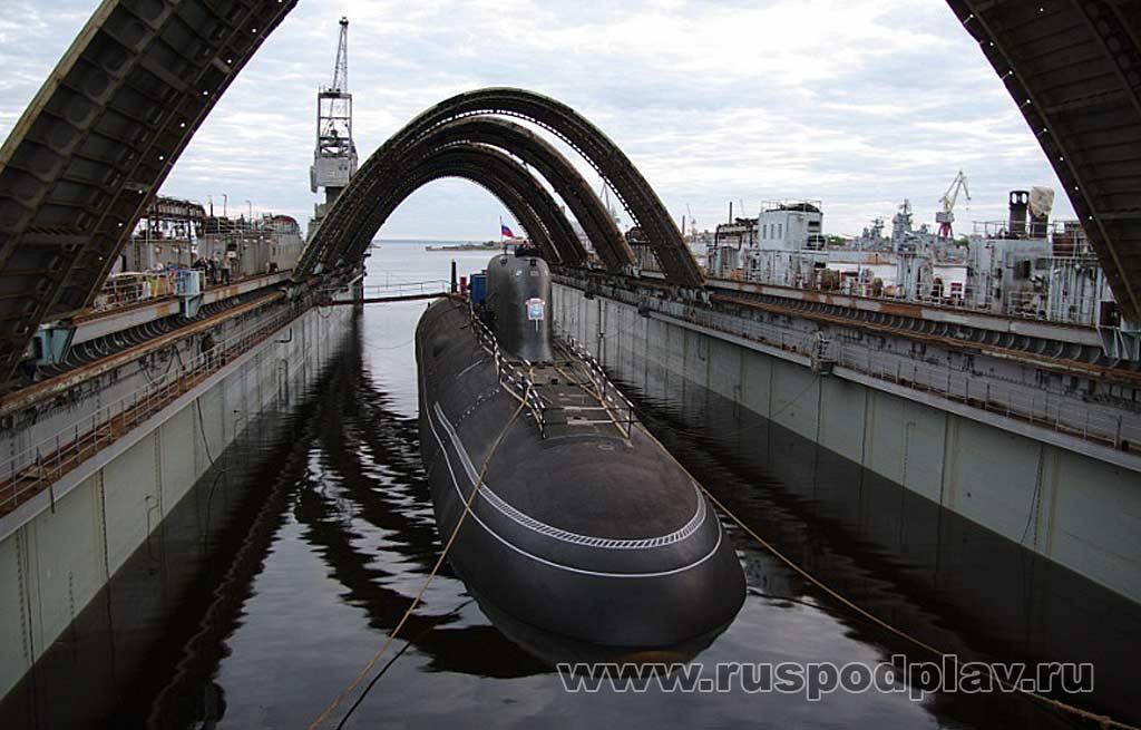 подводная лодка ясень фото