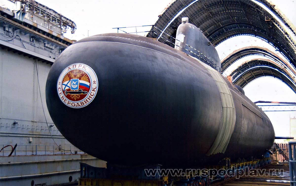 серии атомных подводных лодок ясень