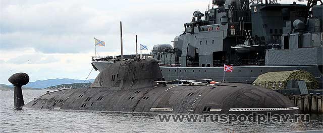 леопард-подводная лодка