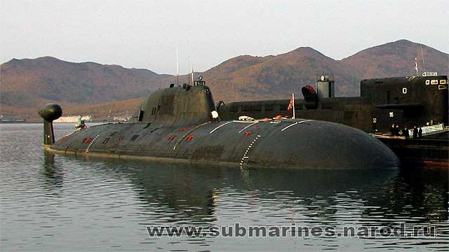 атомная лодка братск