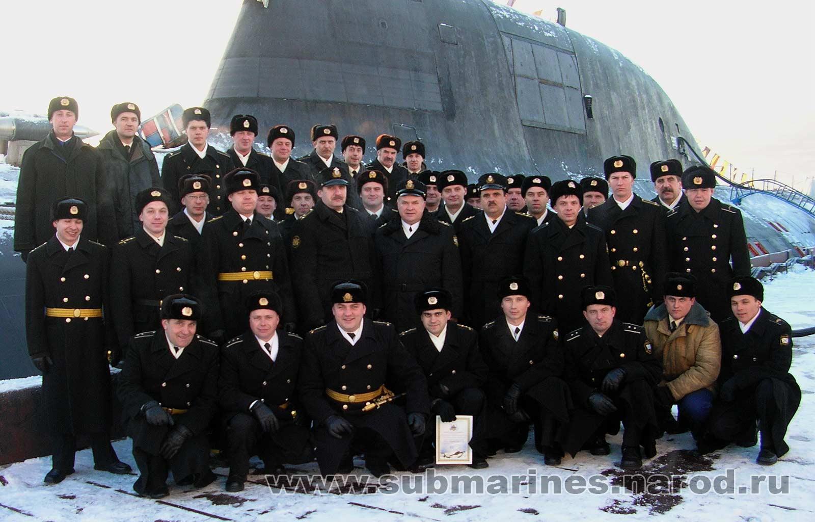 фото экипаж подводной лодки